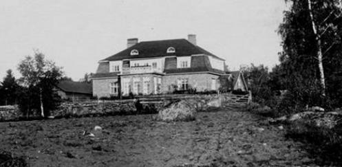 Vanha Pappila juuri valmistuneena vuonna 1921
